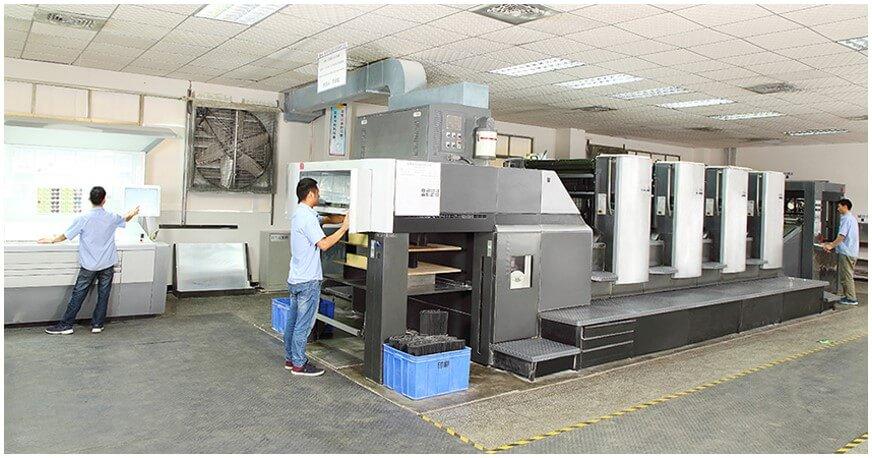 Heidelberg 4-Color Printing Machine