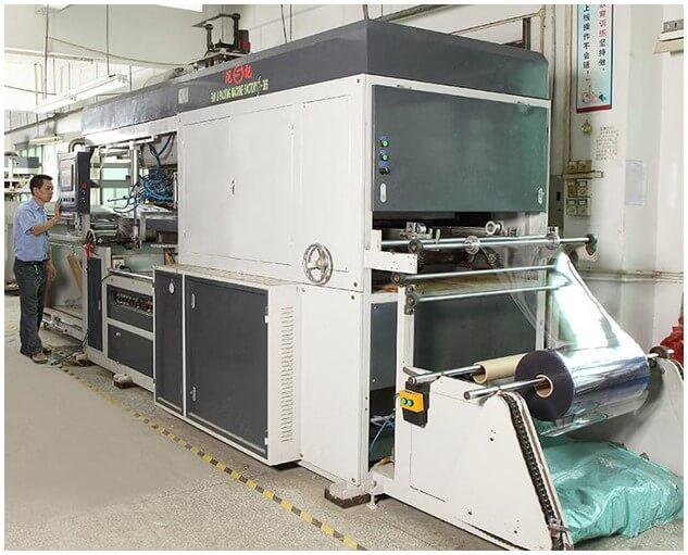 Plastic Liner Blister Machine
